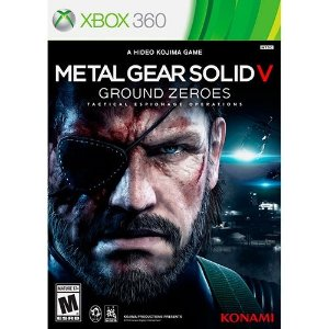 Metal Gear Solid V: Ground Zeroes - X360 - Nerd e Geek - Presentes Criativos