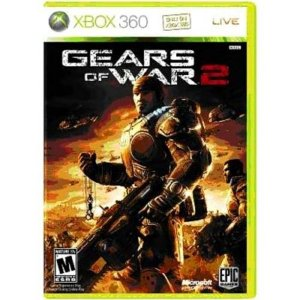 Gears Of War 2 - Xbox 360 - Nerd e Geek - Presentes Criativos