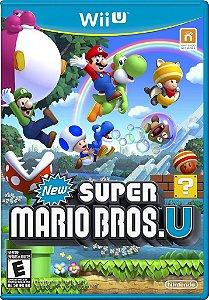 New Super Mario Bros. U - Wii U - Nerd e Geek - Presentes Criativos