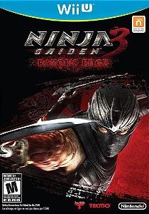 Ninja Gaiden 3 - Razors Edge - Wii U - Nerd e Geek - Presentes Criativos