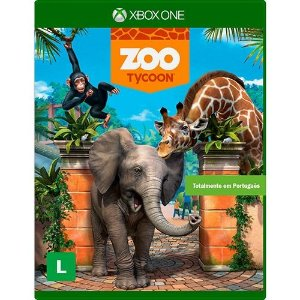 Zoo Tycoon - Xbox One - Nerd e Geek - Presentes Criativos