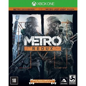 Game Metro Redux - Xbox One - Nerd e Geek - Presentes Criativos