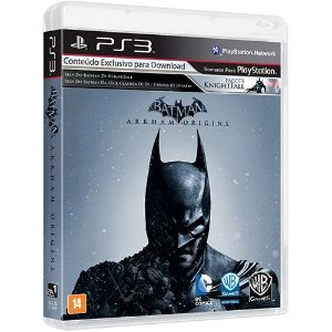 Batman: Arkham Origins Br - Ps3 - Nerd e Geek - Presentes Criativos