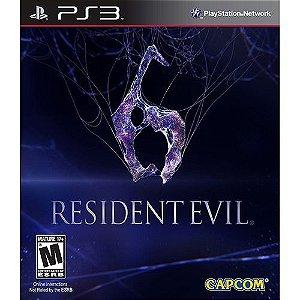 Resident Evil 6 - Ps3 - Nerd e Geek - Presentes Criativos