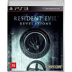 Resident Evil: Revelations - Ps3 - Nerd e Geek - Presentes Criativos