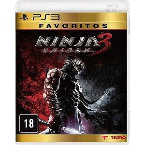 Ninja Gaiden 3 - Favoritos - Ps3 - Nerd e Geek - Presentes Criativos