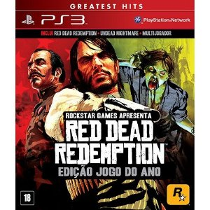 Red Dead Redemption: Game Of The Year - Ps3 - Nerd e Geek - Presentes Criativos