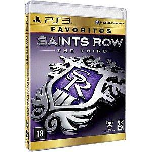 Saints Row The Third - Favoritos - Ps3