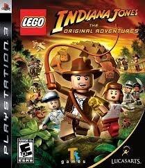 Lego Indiana Jones: The Original Adventures - Ps3 - Nerd e Geek - Presentes Criativos