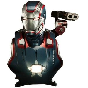 Iron Patriot Life-Size Bust - Sideshow Collectibles