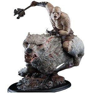 Azog Statue The Hobbit Weta 1:6 Produção Limitada E Numerada - Nerd e Geek - Presentes Criativos