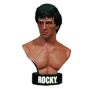 Rocky Life-Size Bust - Hollywood Collectibles 1:1 - Nerd e Geek - Presentes Criativos
