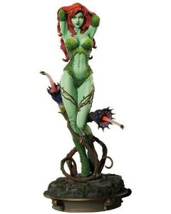 Poison Ivy - Hera Venenosa (Green Ver.) Premium Format - Nerd e Geek - Presentes Criativos