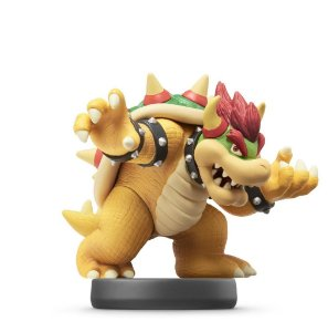 Bowser Amiibo Figure Super Mario Series Nin