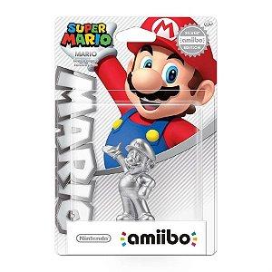 Silver Mario Amiibo Figure Nin