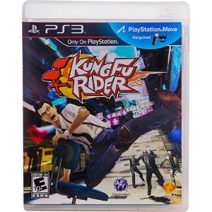Ps3 - Kung Fu Rider - Nerd e Geek - Presentes Criativos