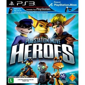Ps3 - Playstation Move Heroes - Nerd e Geek - Presentes Criativos