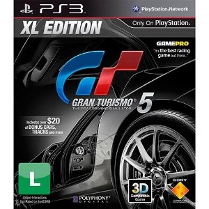 Ps3 Gran Turismo 5: Xl Edition - Nerd e Geek - Presentes Criativos