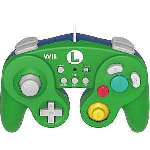 Controle Hori Battle Pad (Edição Luigi) - Wii U / Wii - Nerd e Geek - Presentes Criativos