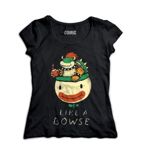 Camiseta Like a Bowse. - Nerd e Geek - Presentes Criativos