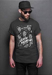 Camiseta Masculina   Eu Ouço Gente Morta - Nerd e Geek - Presentes Criativos