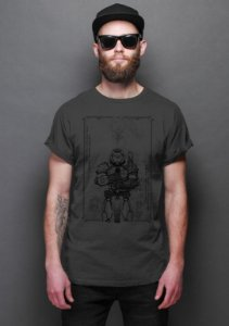 Camiseta Masculina Doom - Nerd e Geek - Presentes Criativos