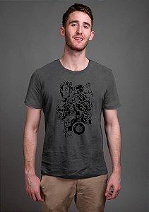 Camiseta Masculina Os Exteminadores Nerd e Geek - Presentes Criativos