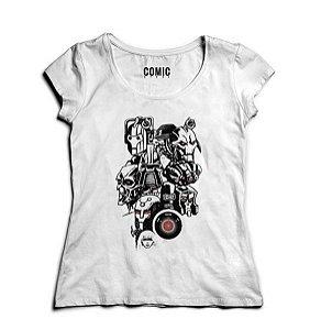 Camiseta Feminina Exterminadores Nerd e Geek - Presentes Criativos