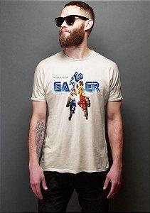 Camiseta Masculina Gamer Retrô Nerd e Geek - Presentes Criativos