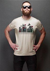Camiseta Masculina Mario Robot
