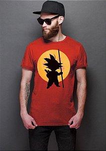 Camiseta Masculina  Dragon Ball Goku - Nerd e Geek - Presentes Criativos