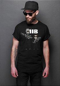 Camiseta Masculina  MIB - Nerd e Geek - Presentes Criativos
