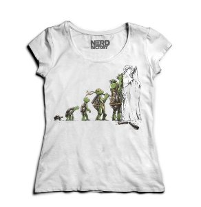 Camiseta Feminina Teenage Mutant Ninja Turtles - Nerd e Geek - Presentes Criativos