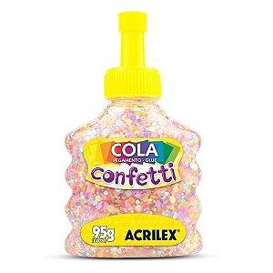 Cola Especial para Artesanato Confetti 95g Algodão Doce
