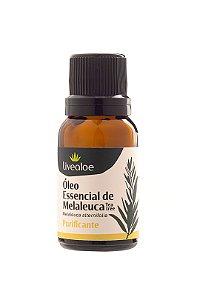 Óleo essencial Tea Tree (melaleuca auternifolia) - LIVEALOE 15 ml