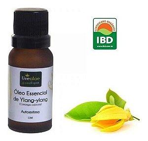 Óleo Essencial Ylan Ylang (Cananga odorata) LIVEALOE - 12 ml