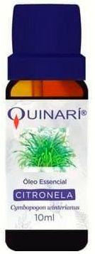 Óleo essencial de CITRONELA (Cymbopogon winterianus) Quinarí - 10 mL