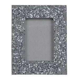 Porta-retrato Cimento Cinza 10x15cm