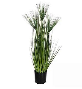 Planta  Artificial Grass Papiro Verde 75cm