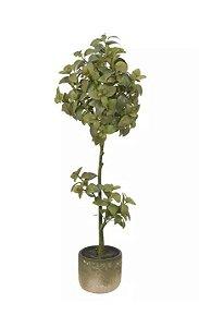 Planta  Artificial Manjericão Verde 2 Tons 1,1m