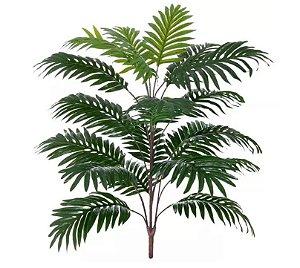 Planta Árvore Artificial Palmeira Areca Real Toque Verde 75cm