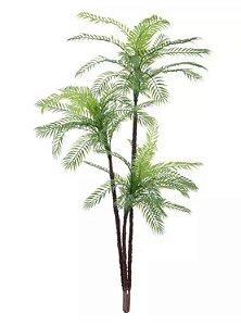 Planta Árvore Artificial Palmeira Verde em 2 Tons 1,45m