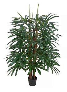 Planta Árvore Palmeira Artificial Raphis Verde 1,75m