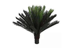 Planta Árvore Artificial Palmeira Cycas Verde 1,3m