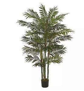 Planta Árvore Artificial Palmeira Areca Verde 1,8m