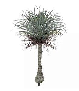 Planta Árvore Artificial Yucca Com Frosted Verde 1,5m