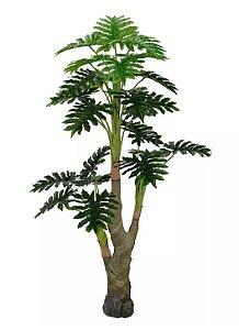 Planta Árvore Artificial Philo Verde Real Toque 1,4m
