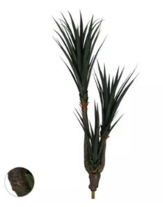 Planta Árvore Artificial Pandanus Texturizada Verde 1,8m