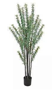 Planta Árvore Artificial Folha Verde 2 Tons 1,58m