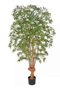 Planta Árvore Artificial Arália Verde 1,9m